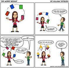 The Worst Books - A Cartoon