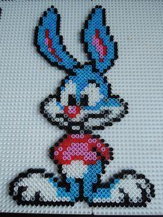 Looney Tunes aus Bügelperlen  Perler Beads by Baumberger Entdecker