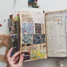 FINALLY got to film a video today! And it's a lengthy one! My finished journal flip through. it's about 40 minutes long😳😖😖 Should I split it into two parts or leave as one ridiculously long video? Art Journal Pages, Junk Journal, Journal Paper, Scrapbook Journal, Music Journal, Photo Journal, Journal Cards, Handmade Journals, Handmade Books