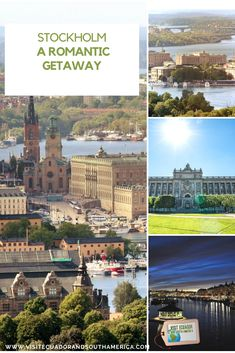 Stockholm: A romantic getaway - Visit Ecuador and South America Stockholm Old Town, Visit Stockholm, Cool Places To Visit, Places To Go, Sightseeing Bus, Attraction Tickets, Romantic Destinations, Romantic Getaway, City Break