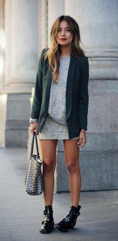 Gray & green.