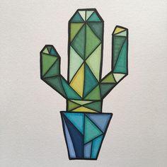 Doodle Art Drawing, Cool Art Drawings, Art Drawings Sketches, Easy Drawings, Tattoo Drawings, Tattoos, Cactus Drawing, Cactus Art, Cactus Plants