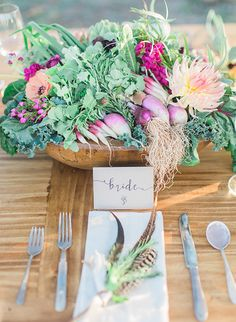 Arizona Farm to Table Wedding - Inspired By This