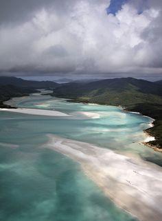 Marvelous Places--Whitehaven Beach, Australia