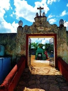 Mexican Cemetary, playa del carmen