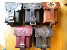 A set of what is supposed to be Leather Deck Boxes, intended for sleeved cards. Unfortunately, due to complications in physics, these function only as either Magic the Gathering themed leather boxes,...