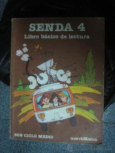 El libro Senda 4 Libro básico de lectura, de la EGB