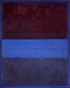 Rust and Blue Mark Rothko, 1953