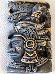 Aztec Art, Aztec and Maya Ancient Aliens, Ancient Art, Ancient History, Mayan Tattoos, Inca Tattoo, Indian Tattoos, Tribal Tattoos, Mayan Mask, Aztec Tattoo Designs