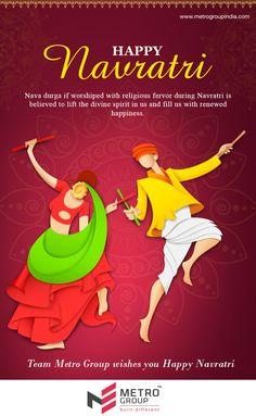 Metro Group wishes you all a very Happy Navratri www.metrogroupindia.com #Navratri2016 #Festival #Occasion #Celebration