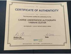 Autographed Memorabilia - Carrie Underwood, Bryan Brothers, Jason Heyward