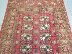 Hand Made Rug, Turkey, 100% wool. Very good quality. Cleaned professionally. Materials : Wool. Approx Age : 30-40 Yrs Old. Our rugs are very durable and can be used in both residential and commercial interiors. | eBay!