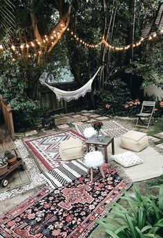 Bohemian Interior Design You Must Know Design Rustic Scandinavian Dining Chic Modern Luxury Vintage Decorating DIY Colors Dark Boho Bedroom Living Room Minimalist Eclectic Style Gipsy Decoration Urban Outfitters Restaurant Art Livingroom Natural Beach T Bohemian Style Home, Bohemian Patio, Bohemian Rug, Bohemian Garden Ideas, Bohemian Living, Modern Bohemian, Bohemian Grove, Boho Garden Party, Vintage Garden Parties