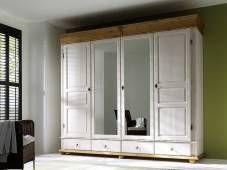 Čtyřdveřová šatní skříň Harald