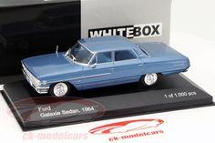 Ford Galaxie Sedan Year 1964 blue 1:43 WhiteBox