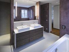 Haus 1180   Mayr & Glatzl Innenarchitektur GmbH #innenarchitektur #badezimmer #design #details #materials Villa, Attic Rooms, Interior Designing, Bathing, Projects, House, Fork, Villas