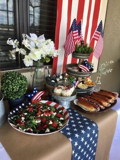 Fourth Of July Decor, 4th Of July Celebration, 4th Of July Decorations, 4th Of July Party, July 4th, Birthday Decorations, Memorial Day, 4. Juli Party, Pottery Barn Look