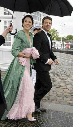 Crown Princess Mary and Crown Prince Frederik