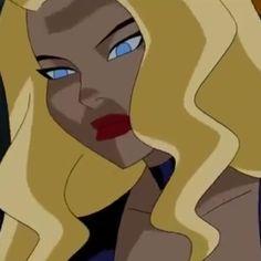 Cartoon Icons, Cartoon Tv, Black Canary Comic, Justice League Animated, Dinah Laurel Lance, Spectacular Spider Man, Cartoon Profile Pics, The Little Mermaid, Art Reference