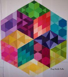 Busy Hands Quilts: GRAVITY Quilt Along {Block 6 Ultraviolet} + Schedule Changes!!