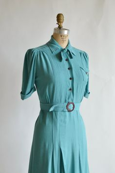 1940s Vintage Dress from Dalena Vintage