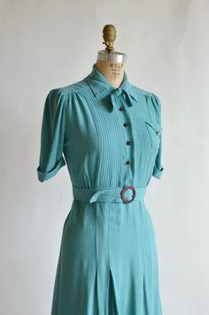 1940s Vintage Dress from Dalena Vintage