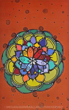 Lotus | Acrylic on canvas by Megan Harmer | 80cm x 50cm | Part of the next series Lotus Painting, Original Art, Original Paintings, Nature Paintings, Buy Art, Modern Art, Saatchi Art, Illustration Art, Canvas Art