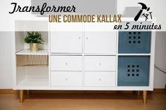 Ikea Hack / Kallax/ transformer / DIY bricolage faire soi meme