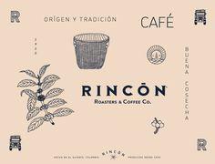 Diseño de brand para café Rincón
