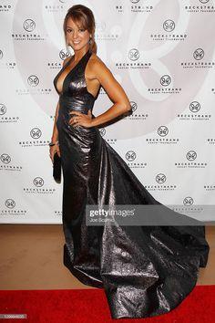 News Photo : Eva La Rue arrives at Beckstrand Cancer. Beautiful Celebrities, Gorgeous Women, Eva Larue, Us Actress, Actrices Sexy, Actor Photo, Biker Girl, Twiggy, Red Carpet Dresses