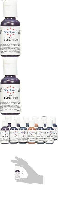 Americolor Soft Gel Paste Food Color, 6-Ounce, Bright White AM 226 ...