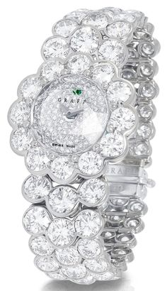 Graff. LadyGraff 16mm watch in white gold and diamonds. POA  TinaForBellaDonna