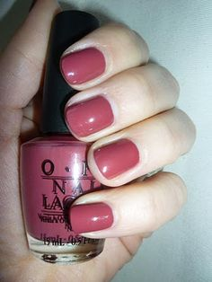 OPI Yucatan if You Want -- I love this color. I don't paint my fingernails, but I would use this on my toes!