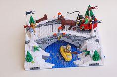 Lego Christmas: mod11_bridge01 | Flickr - Photo Sharing!