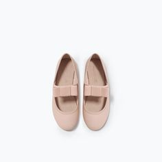 Image 4 of MARYJANES WITH BOW from Zara