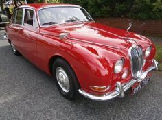 Low mileage 1960s Jaguar S Type car on eBay