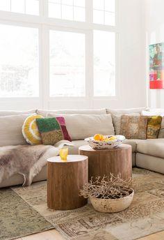 Haal de natuur in huis met deze prachtige robuuste bijzettafels!