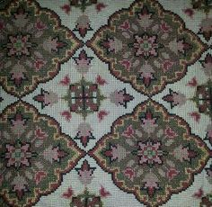 Stitch 2, Cross Stitch Embroidery, Ava, Bohemian Rug, Fabrics, Rugs, Crochet, Pattern, Christmas