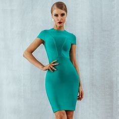 Women Sexy Bodycon Night club Mini Evening Party Dress #minidress #Bodycon #PartyDresses #Evening #Cocktail #FormalEvening #NightOut #Partywear #Runway #Clubwear #Sexylooks Plus Size Party Dresses, Club Dresses, Sexy Dresses, Short Sleeve Dresses, Evening Dresses, Mini Dresses, Homecoming Dresses, Peplum Dresses, Bandage Dresses