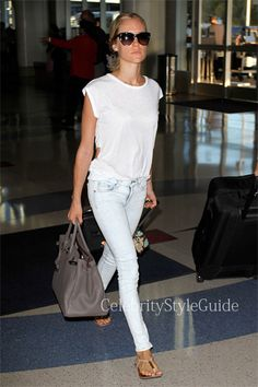 Seen on Celebrity Style Guide: Kristin+Cavallari+is+casual+and+chic+in+the+Stella+McCartney+Squared+Cat-Eye+Sunglasses+arriving+at+LAX+July+17,+2013