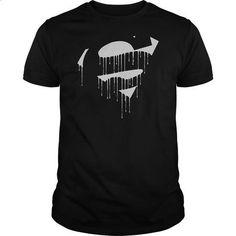 Superman Dripping Shield - #cute gift #cute shirt
