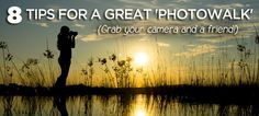 Grab your camera, round up some friends or strangers, and see the world through a camera lens. #photography