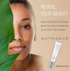 Nutriance Insta-Lift Eye Gel Eye Gel, Eyes, Beauty, Products, Beauty Illustration, Gadget