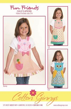 #Sewing #child #apron - Patterns (no free)