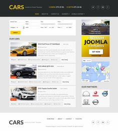 Meet one of the most popular free Joomla auto dealership templates Cars, now is updated to the latest version of Vehicle Manager 3.7 (Basic).