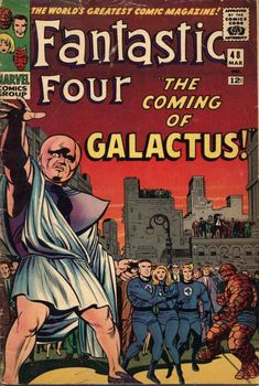 marvel silver age comic book covers | 1966 Fantastic Four #48 Marvel Comics Silver Age Ungraded (MEARS ...
