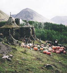 Hagrid's cottage.