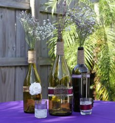 just in case we can't get enough wine bottles cut---back up idea