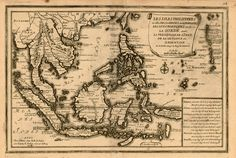 Antique map of Philippines Vintage Maps, Vintage Wall Art, Philippines, Philippine Map, Art Timeline, Old World Maps, East Indies, Wall Maps, Historical Maps