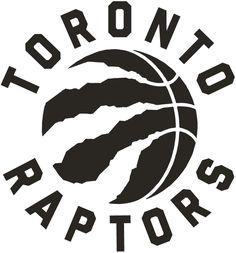 Toronto Raptors Alternate Logo (2016) - A black basketball with claw marks, team name around it in black